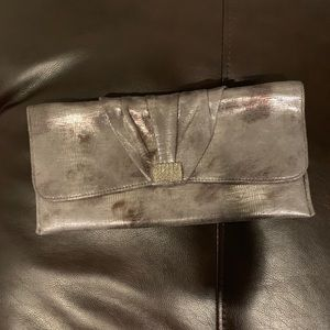 Silver Women's Small Hand Purse